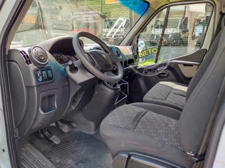 Renault Master Chassi Baú 2017