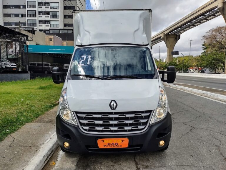 Renault Master Chassi Baú 2021